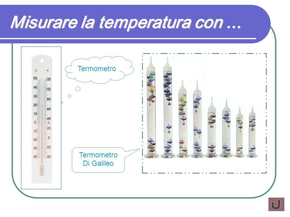 Misurare la temperatura con ...