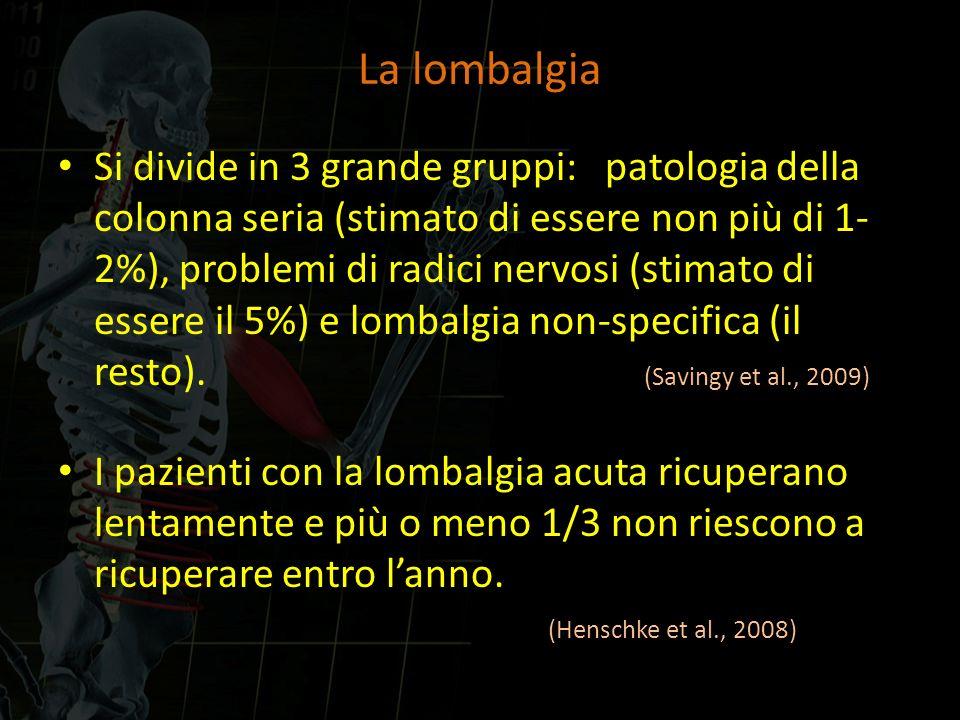 La lombalgia
