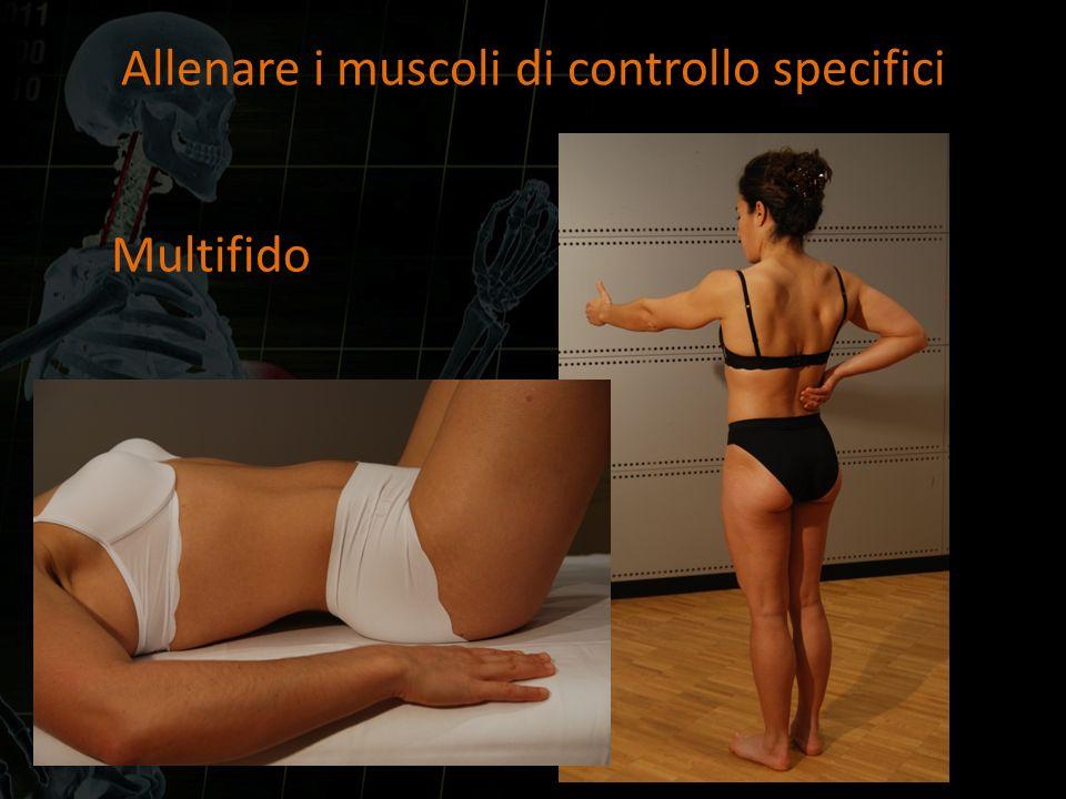 Allenare i muscoli di controllo specifici