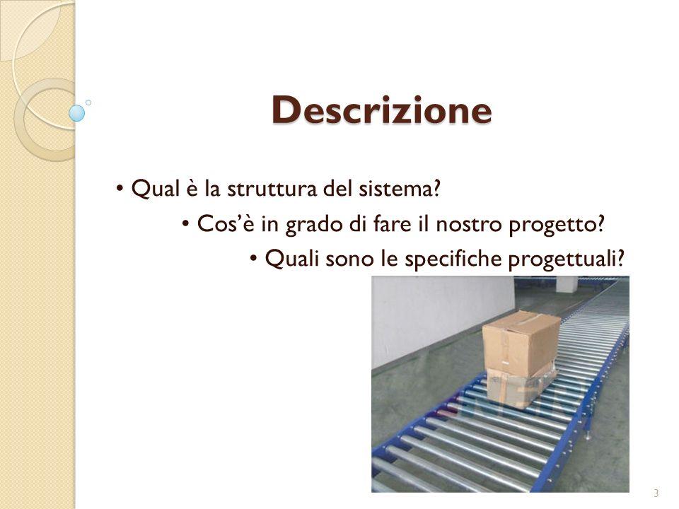 Descrizione • Qual è la struttura del sistema