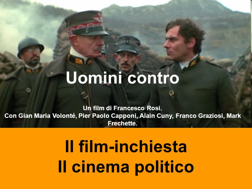 Un film di Francesco Rosi.