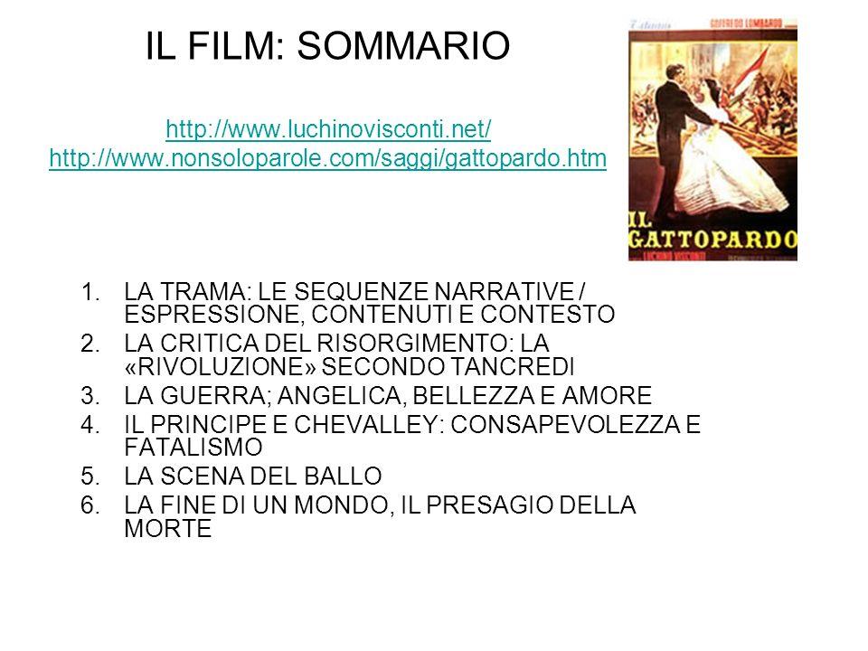 IL FILM: SOMMARIO http://www. luchinovisconti. net/ http://www