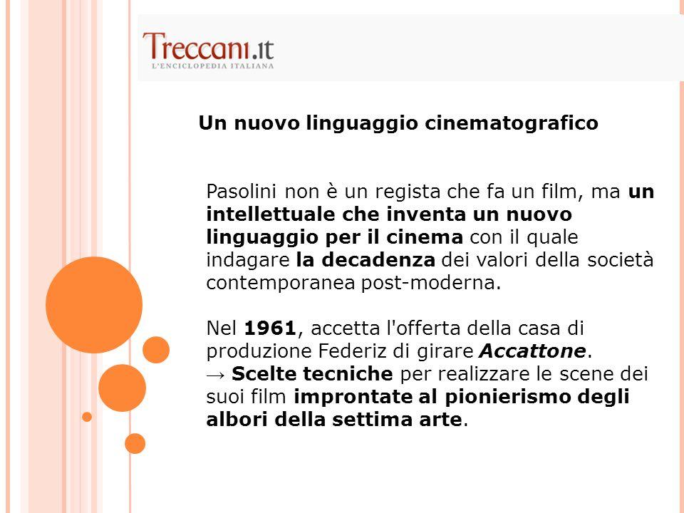 Un nuovo linguaggio cinematografico