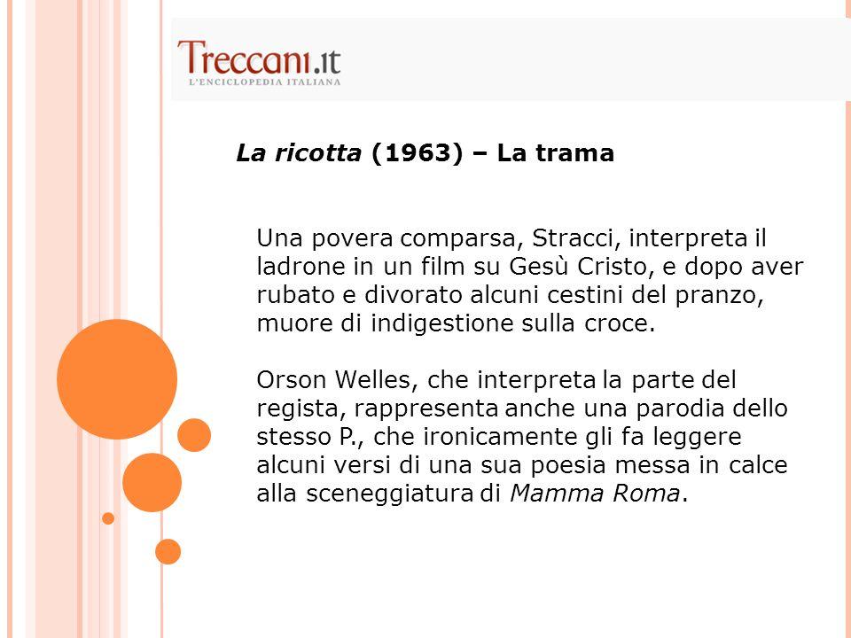 La ricotta (1963) – La trama