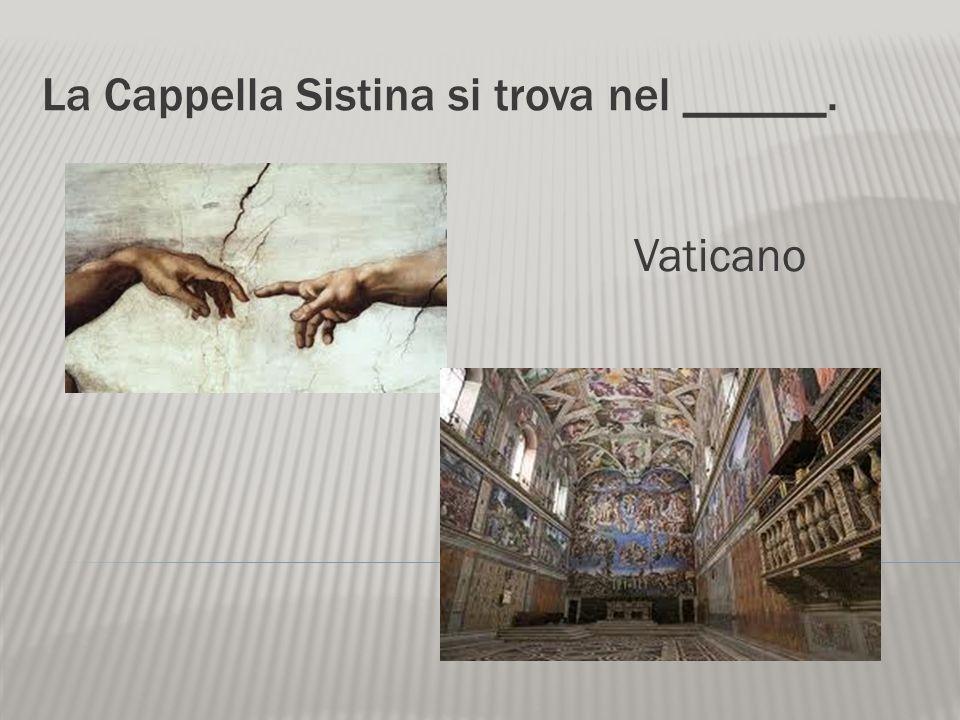 La Cappella Sistina si trova nel ______.