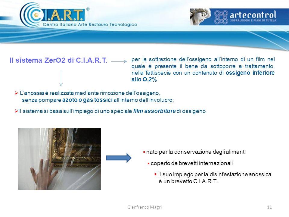 Il sistema ZerO2 di C.I.A.R.T.