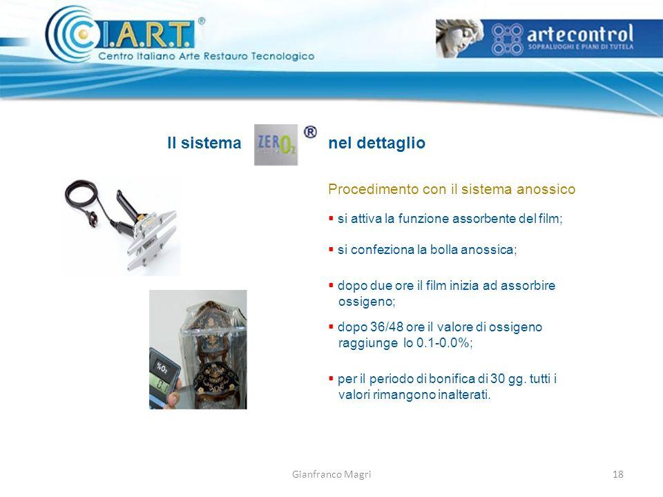 Il sistema nel dettaglio Procedimento con il sistema anossico