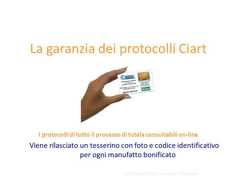 La garanzia dei protocolli Ciart