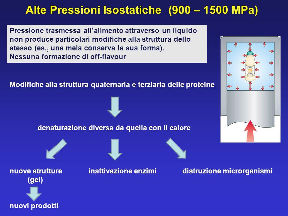 Alte Pressioni Isostatiche (900 – 1500 MPa)