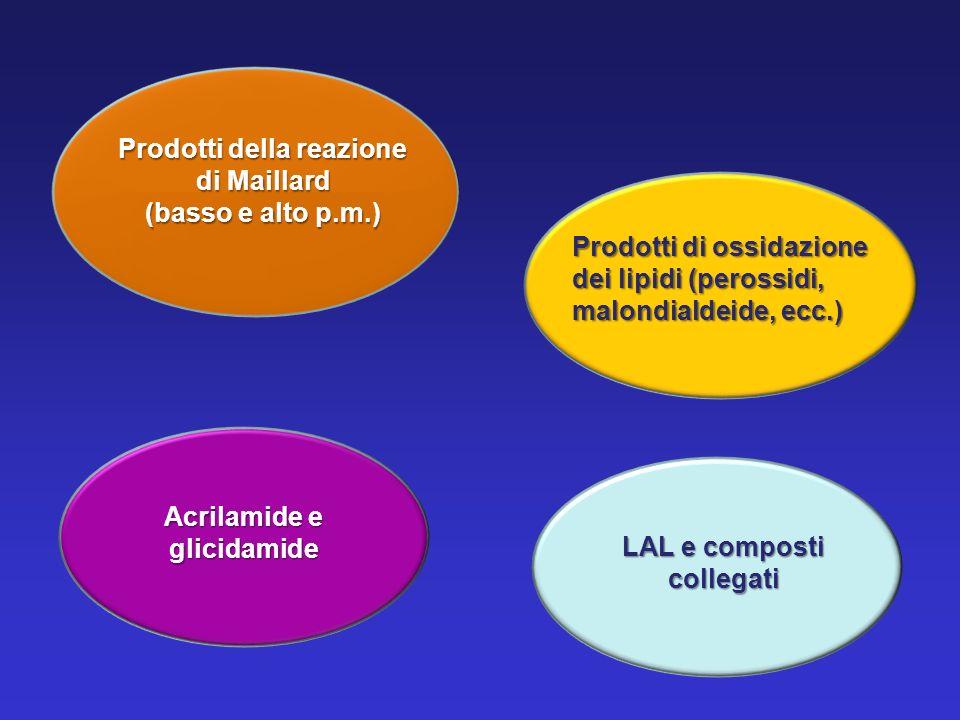 Prodotti della reazione di Maillard (basso e alto p.m.)