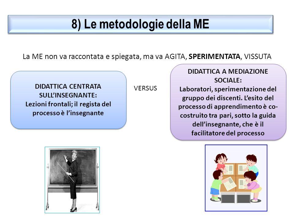8) Le metodologie della ME