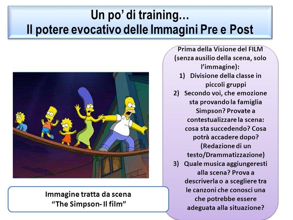 Un po' di training… Il potere evocativo delle Immagini Pre e Post