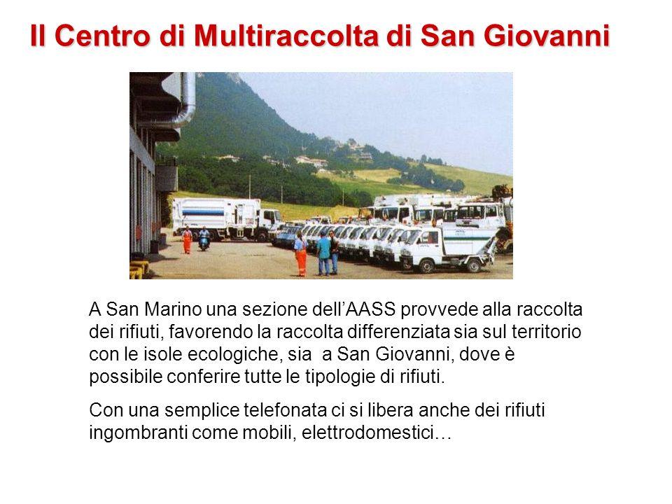 Il Centro di Multiraccolta di San Giovanni