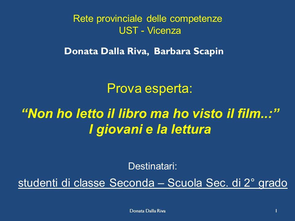 Donata Dalla Riva, Barbara Scapin