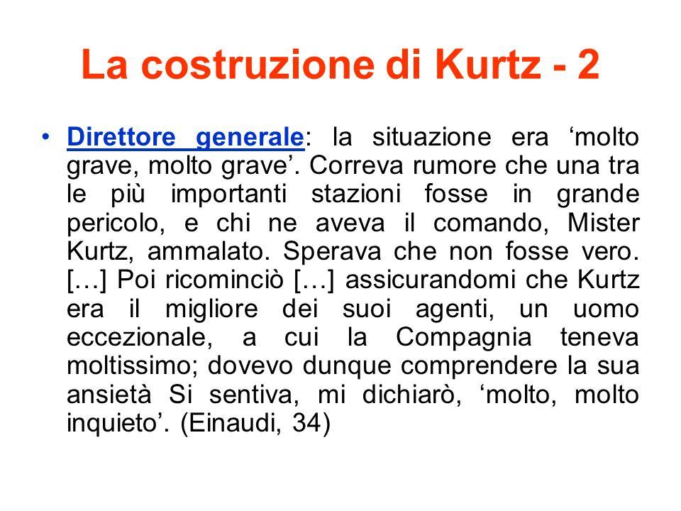 La costruzione di Kurtz - 2