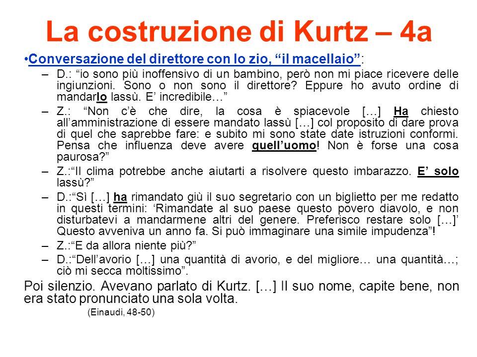 La costruzione di Kurtz – 4a