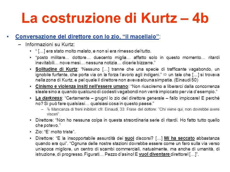 La costruzione di Kurtz – 4b