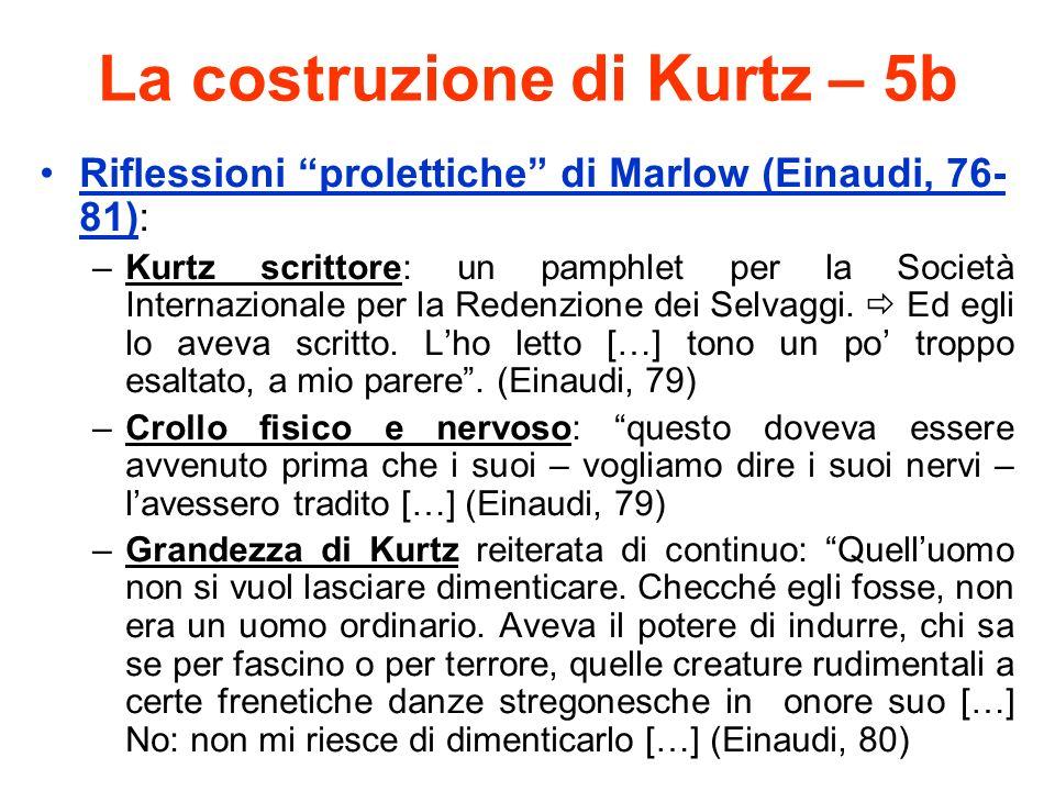 La costruzione di Kurtz – 5b