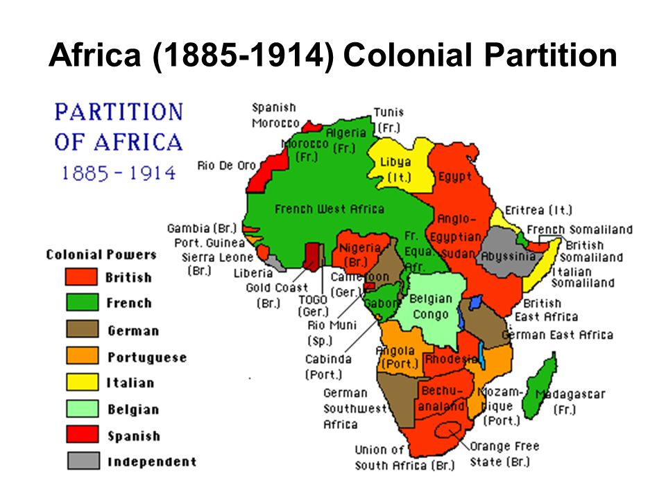 Africa (1885-1914) Colonial Partition