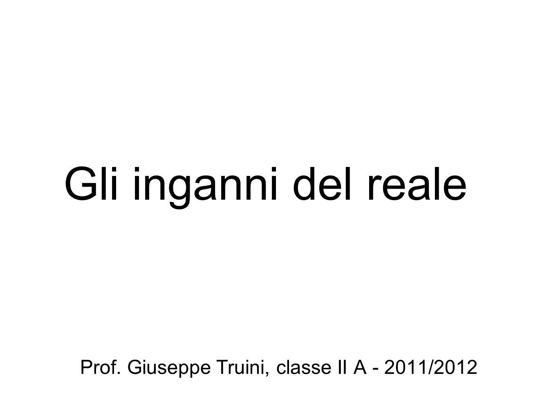Prof. Giuseppe Truini, classe II A - 2011/2012