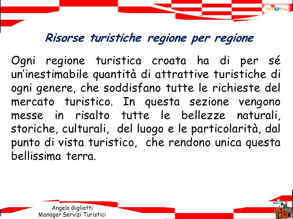 Risorse turistiche regione per regione
