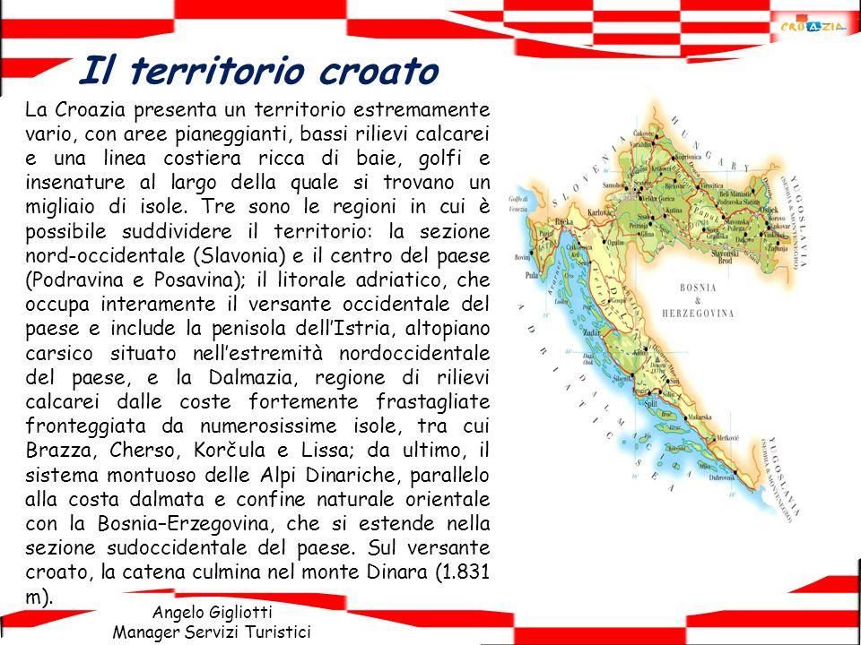 Il territorio croato