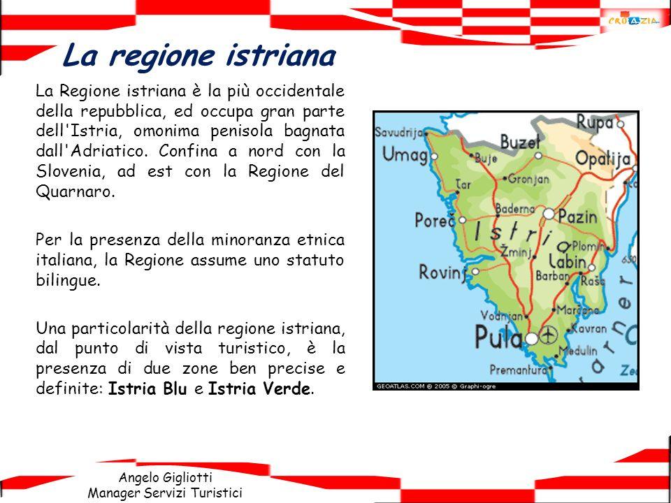 La regione istriana