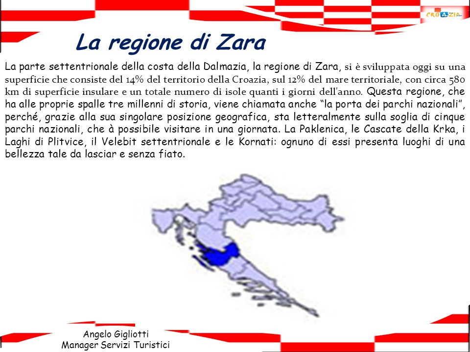 La regione di Zara