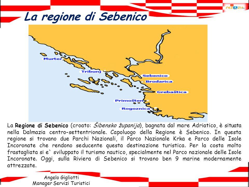 La regione di Sebenico