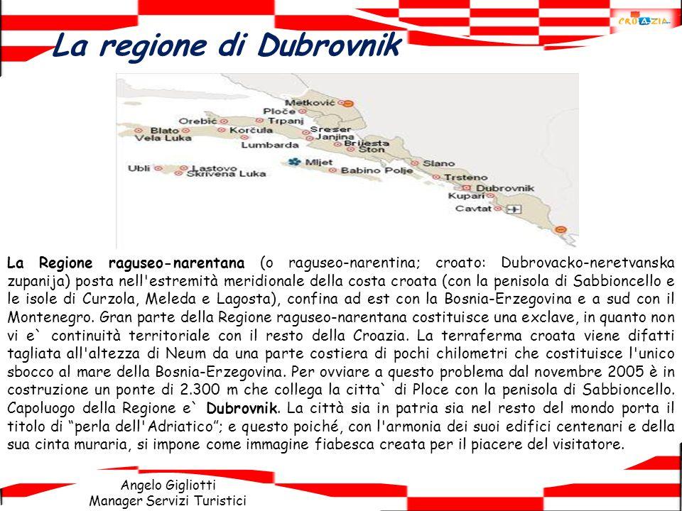 La regione di Dubrovnik