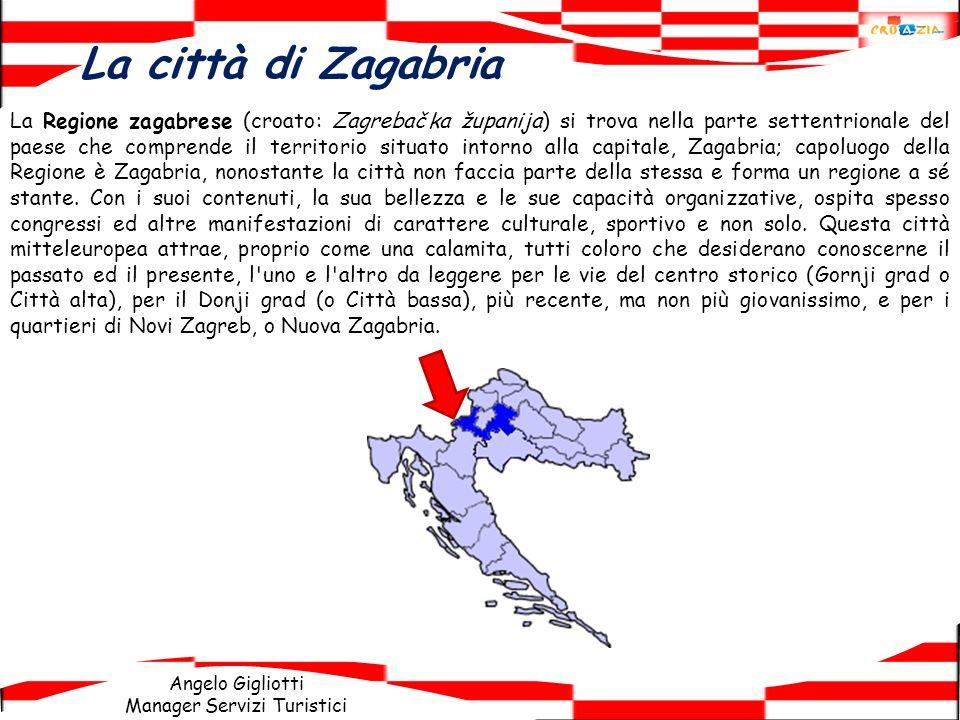 La città di Zagabria