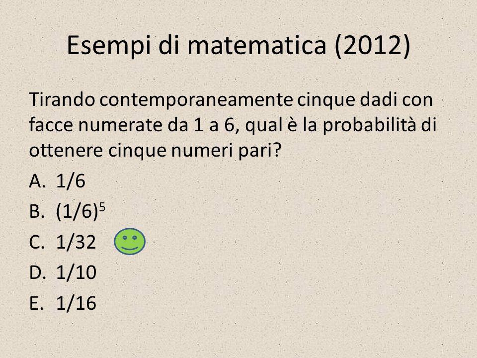 Esempi di matematica (2012)