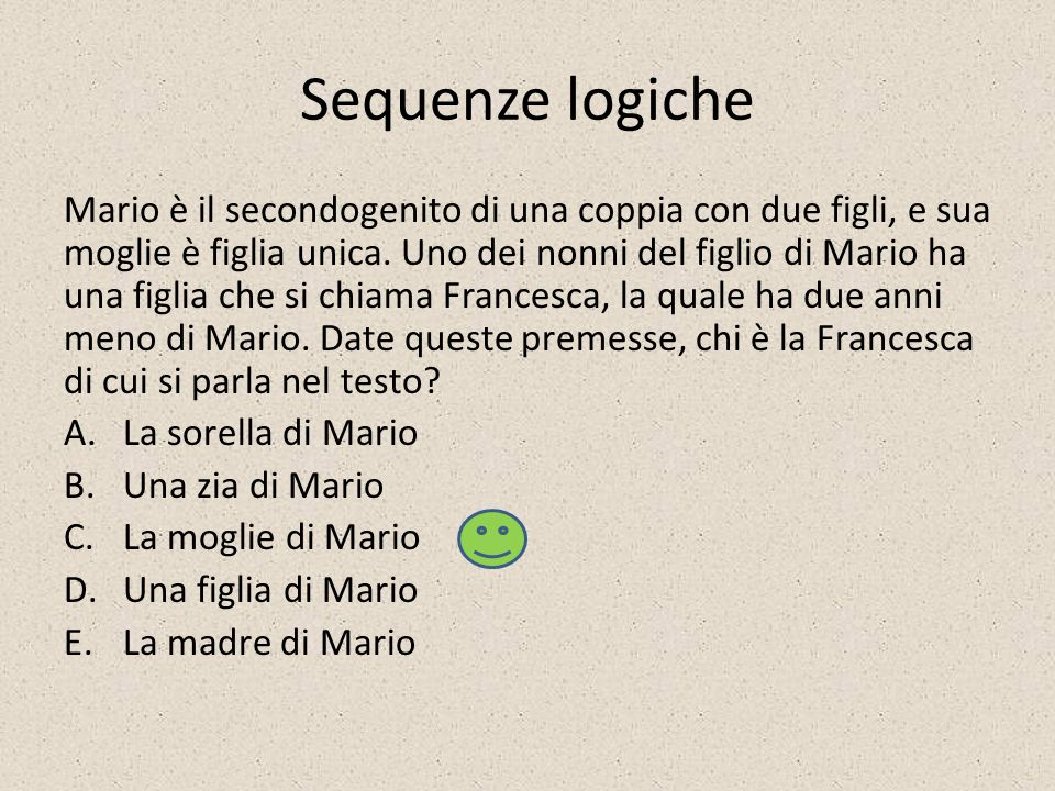 Sequenze logiche