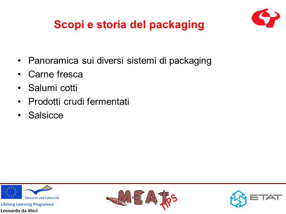 Scopi e storia del packaging