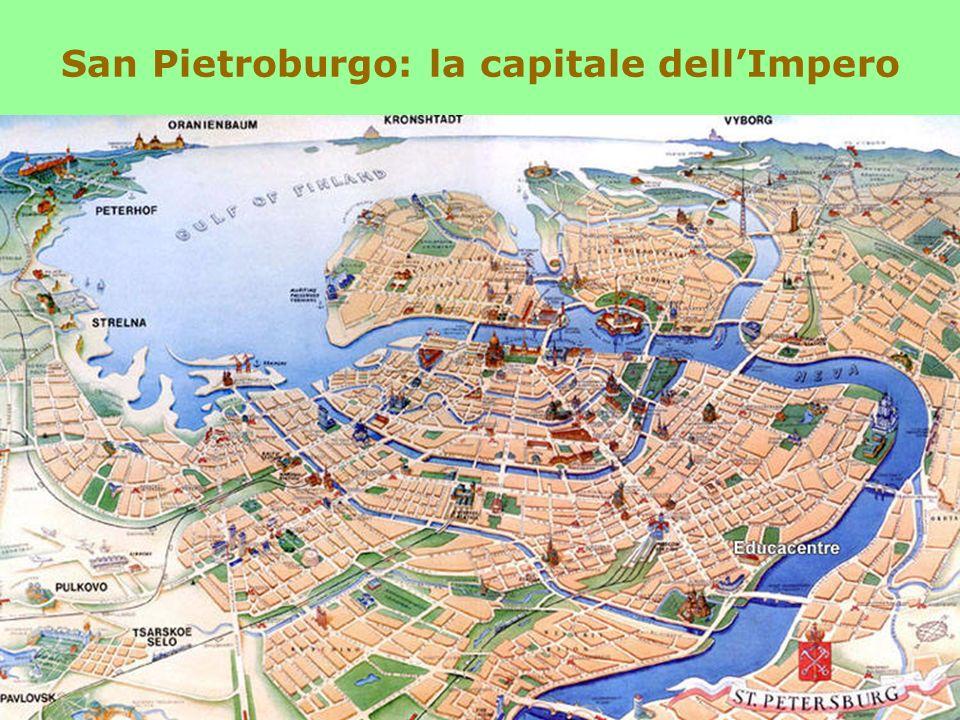 San Pietroburgo: la capitale dell'Impero