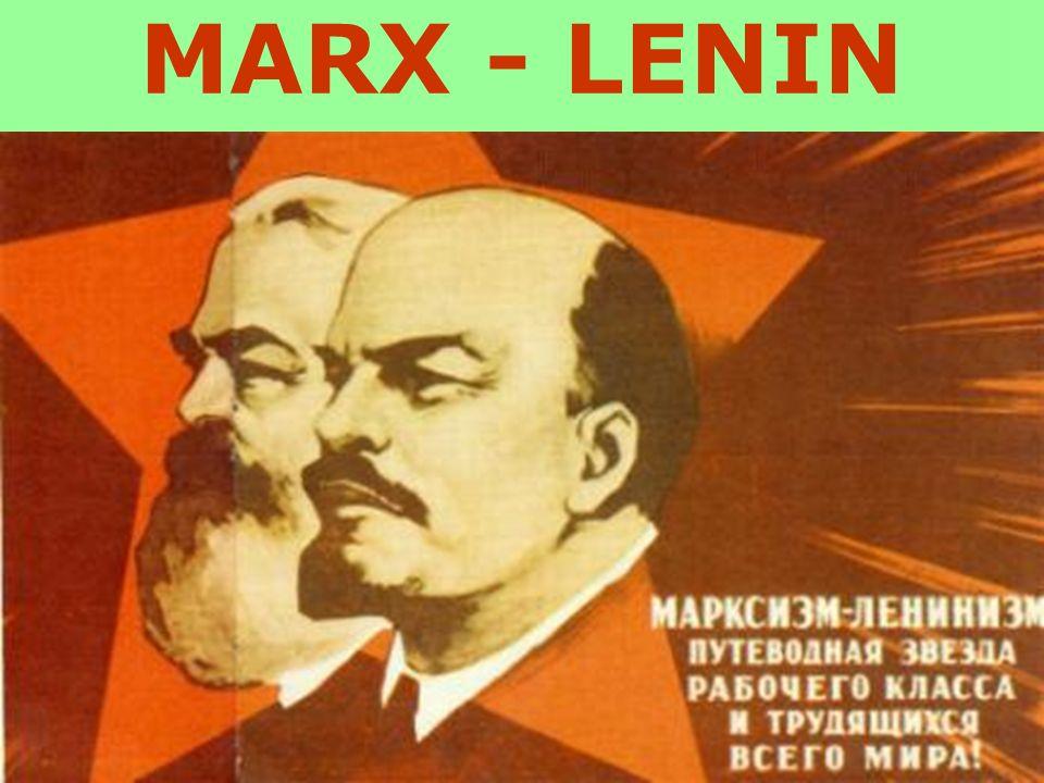 MARX - LENIN