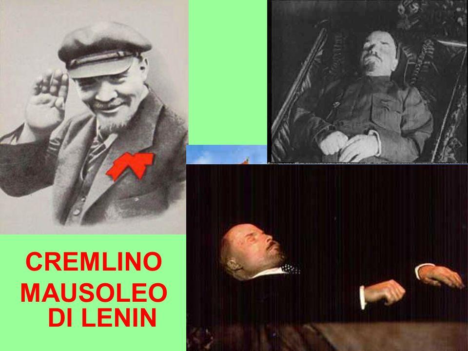 LENIN CREMLINO MAUSOLEO DI LENIN