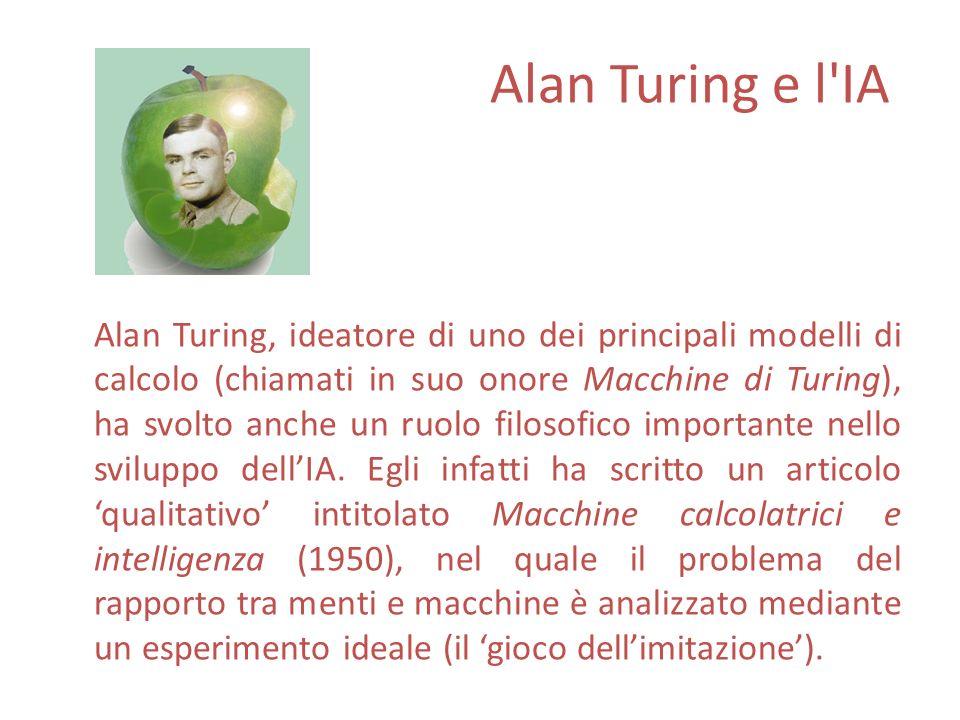 Alan Turing e l IA