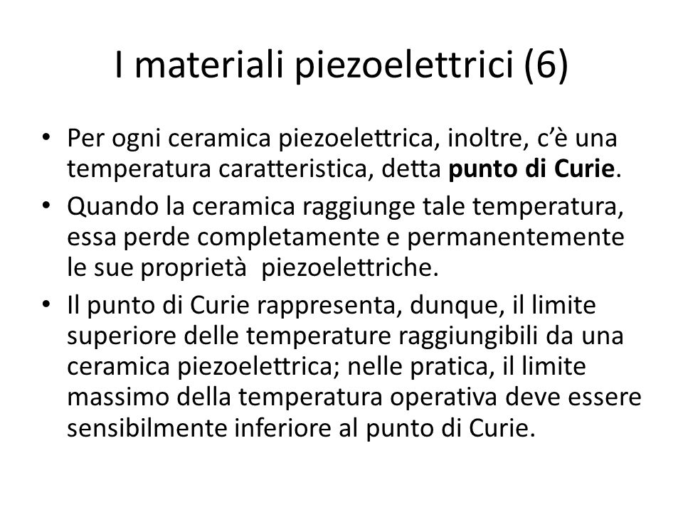 I materiali piezoelettrici (6)