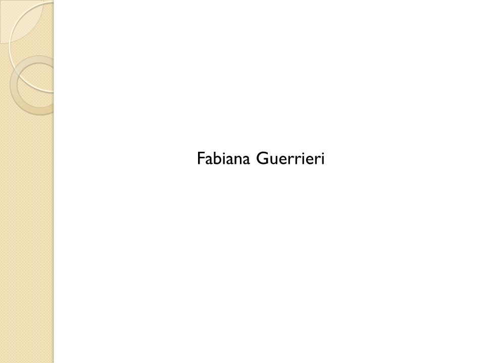 Fabiana Guerrieri