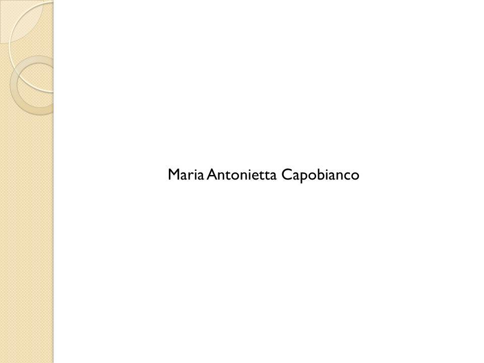 Maria Antonietta Capobianco
