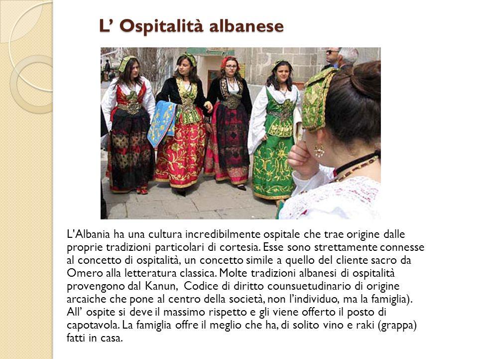 L' Ospitalità albanese