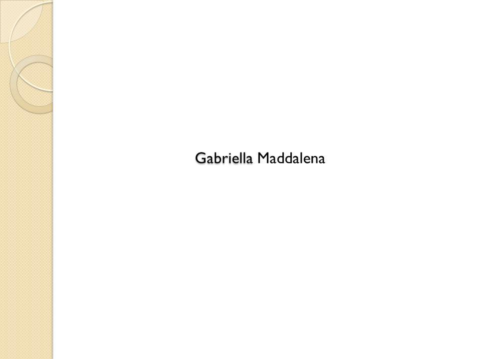 Gabriella Maddalena
