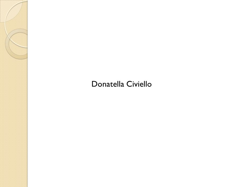 Donatella Civiello