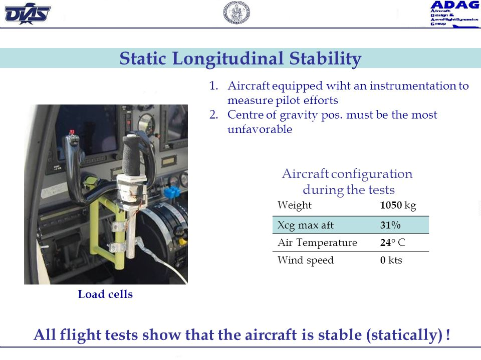 Static Longitudinal Stability