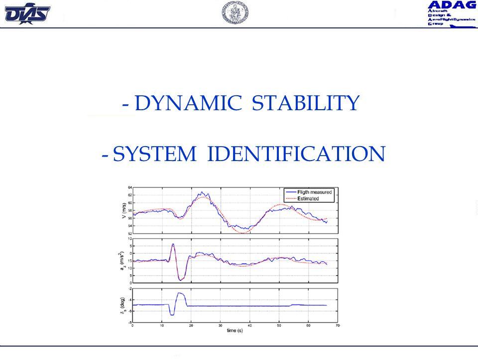 - SYSTEM IDENTIFICATION
