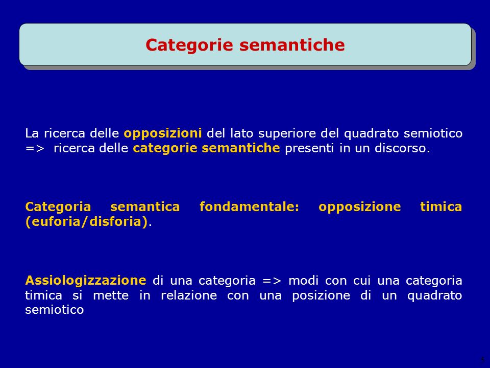 Categorie semantiche