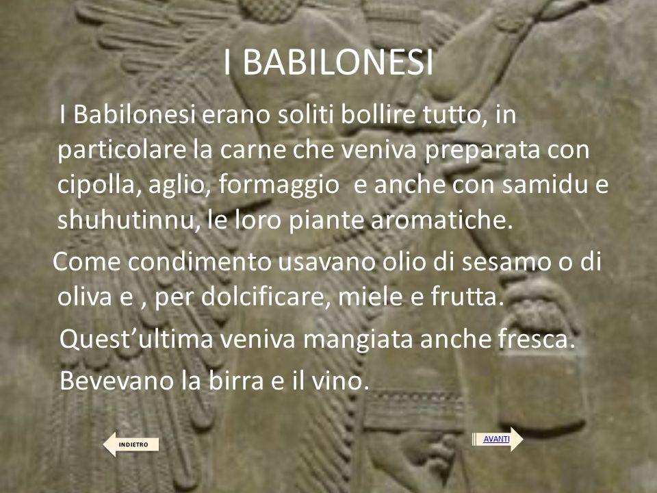I BABILONESI
