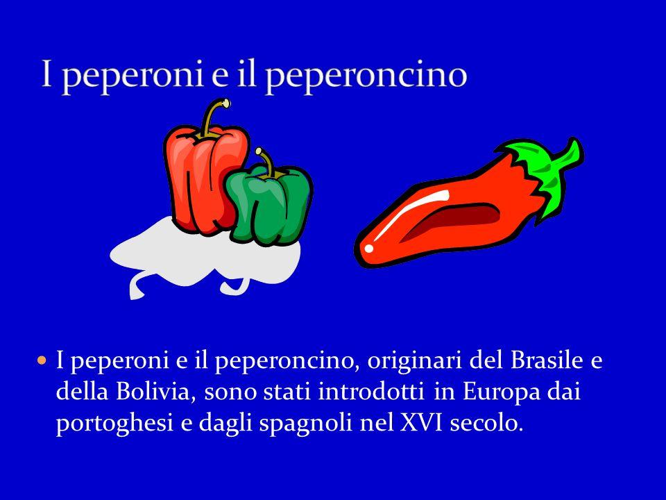 I peperoni e il peperoncino