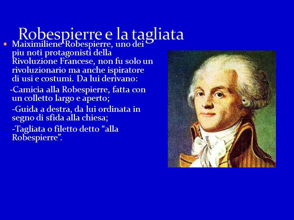 Robespierre e la tagliata